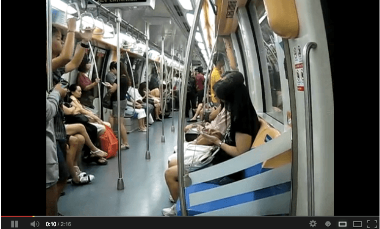 MRT reserved seats