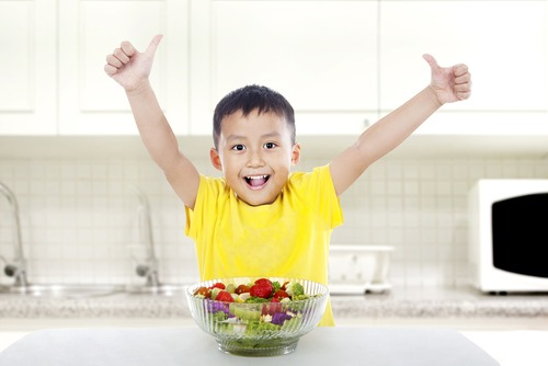 Does your child give you the 'thumbs up' when it comes to eating veggies?
