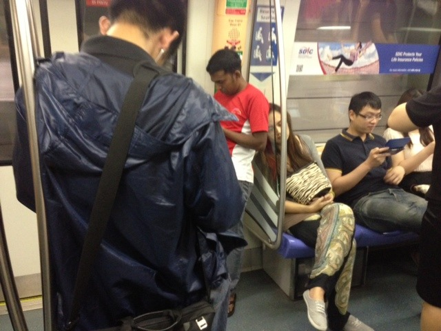 MRT reserved seats in Singapore