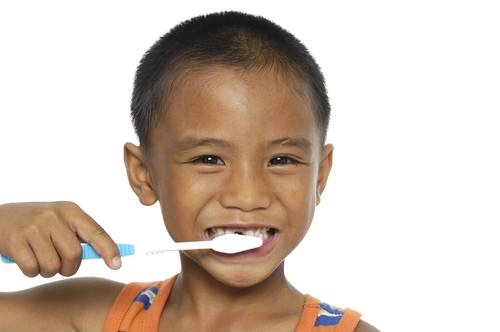trick your child to brush their teeth