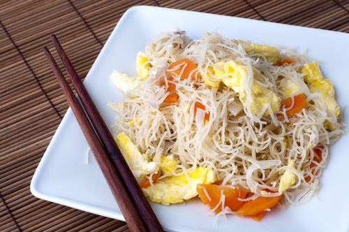 Whip up a quick and easy noodle dish for your child's lunch box.