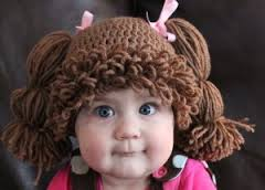 Cabbage patch kids wig