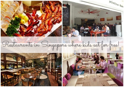 8 places where kids eat for free in Singapore!