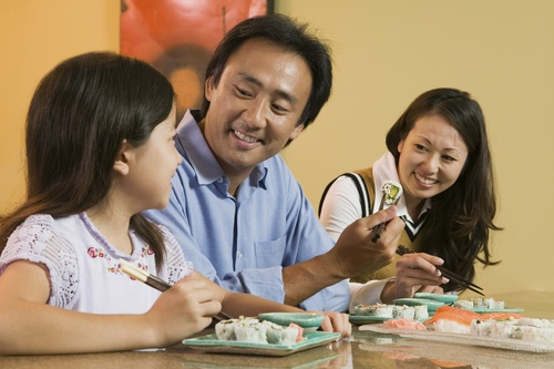 Family-friendly restaurants in the East Coast