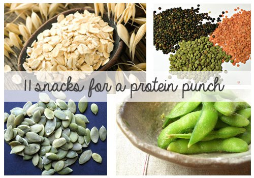 11 snacks for a protein punch!