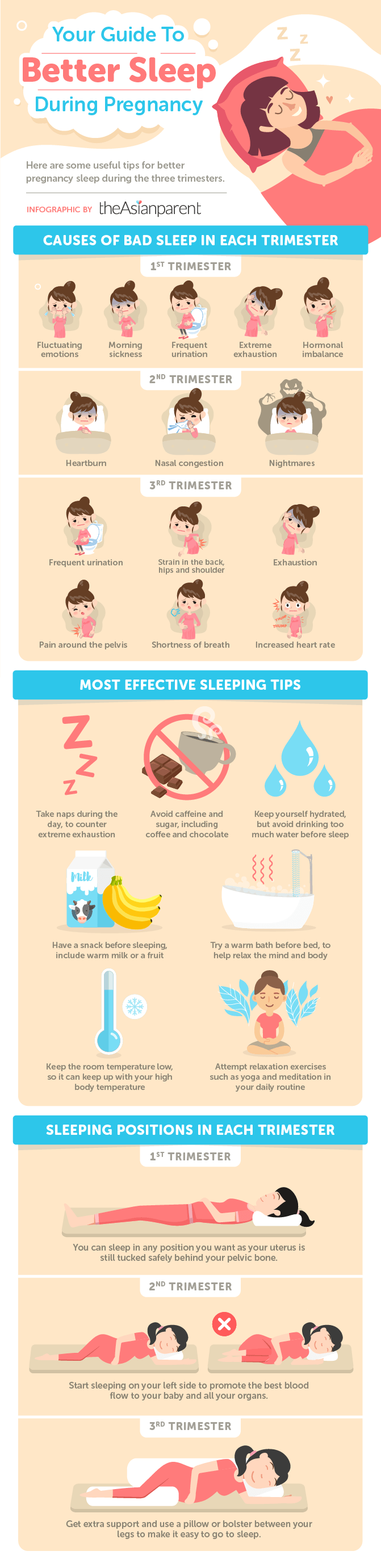 sleep better during your pregnancy