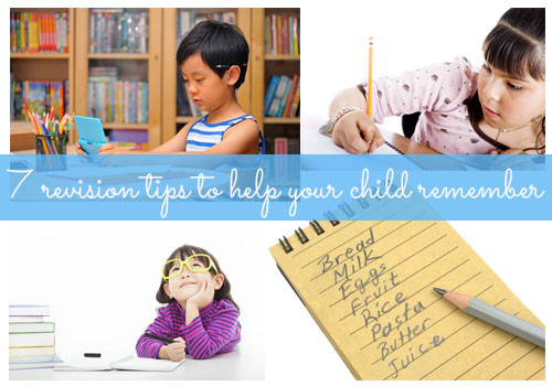7 revision tips to help your child remember