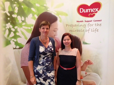 dumex parenting from the heart, healthy pregnancy meals, singapore