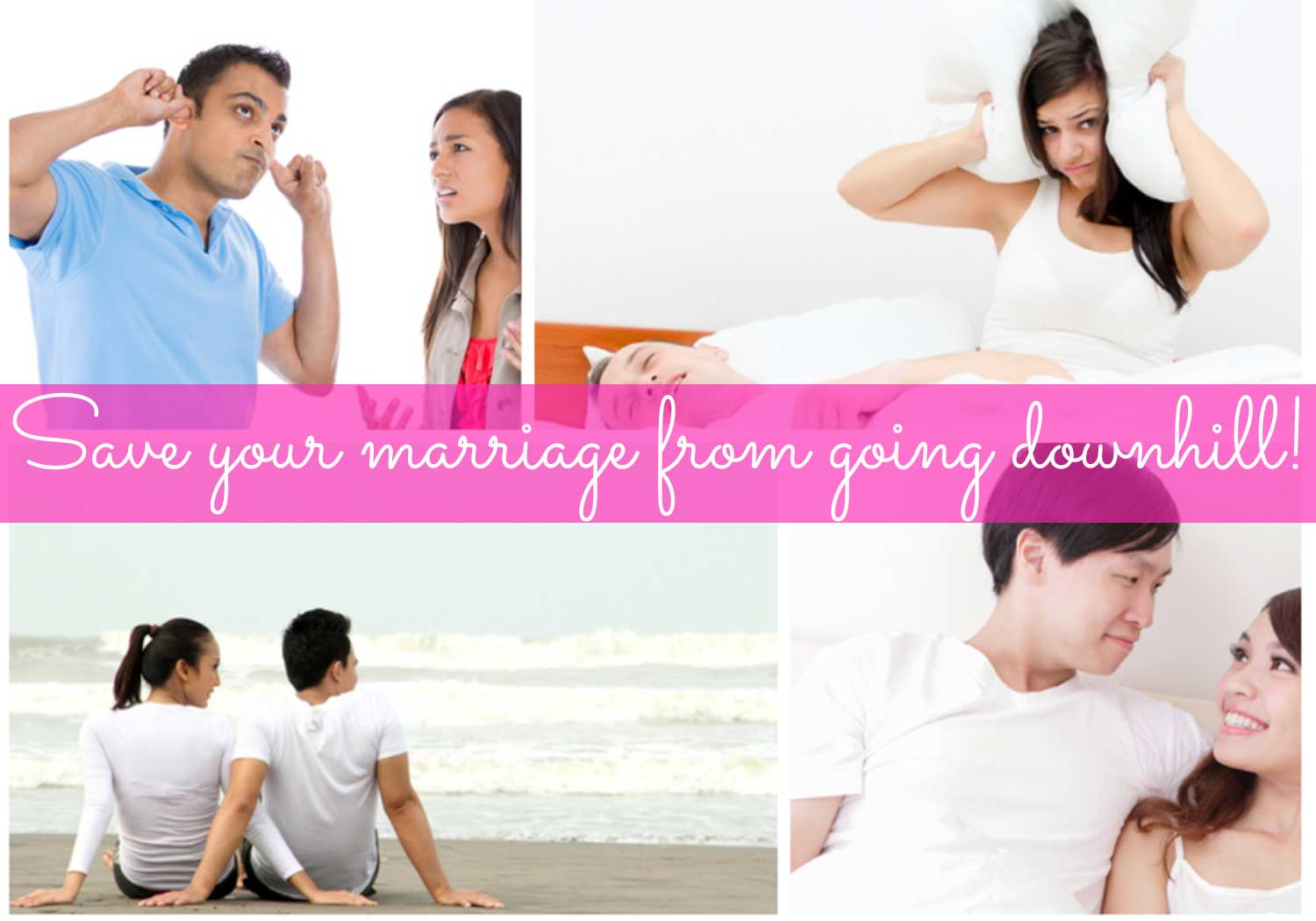 10 ways to save your marriage from going downhill!