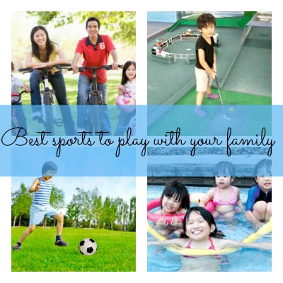 9 best sports to play with your family