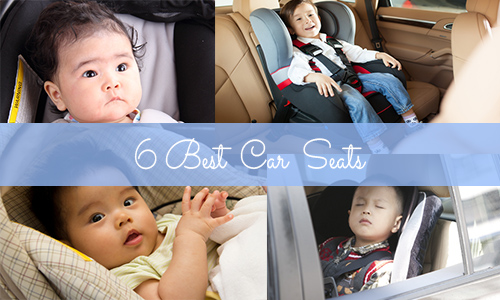 6 best car seats – Shopping guide special!