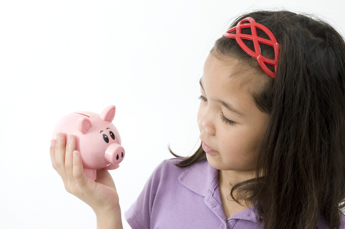 opening a bank account for your child
