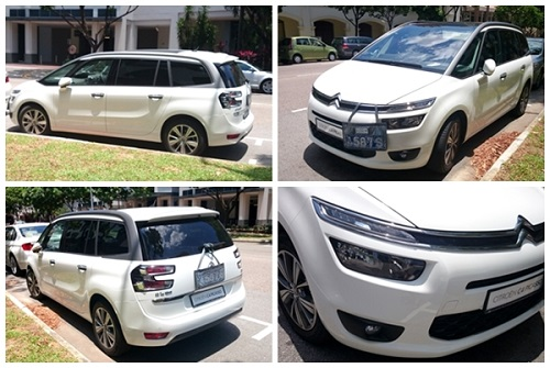 The Kam family's enjoyable weekend drive with the CITROËN Grand C4 Picasso