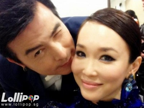 Christopher Lee and Fann Wong baby made in Singapore