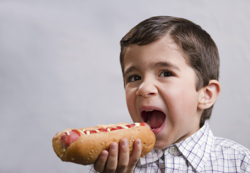 hotdogs and nuggets bad for kids