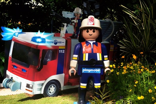 Larger than Life sized Playmobil Storytelling Comes Alive! at Sentosa this June school holidays