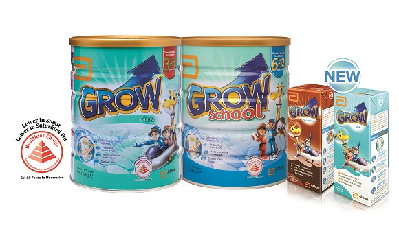 drink after exercise, Abbott Grow