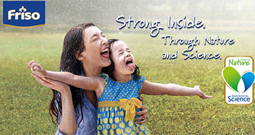 Friso Formula – Strong inside, through nature and science