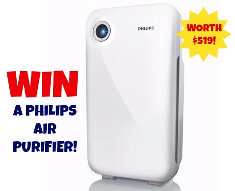 Enter your details in the box below to win a Philips Air Purifier!