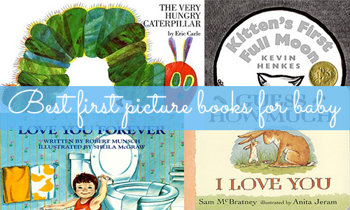 Best first picture books for baby