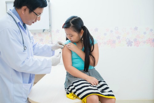 vaccinating kids