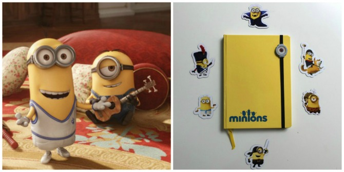 Enter our contest and win Minions Merchandise to complete your little one's movie experience.