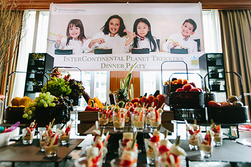 InterContinental Singapore launches their Planet Trekkers menu for kids