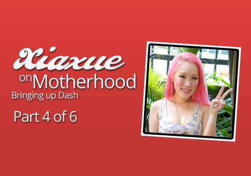 Xiaxue on bringing up Baby Dash