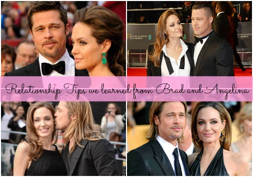 5 healthy relationship tips from newly weds Brad and Angelina!