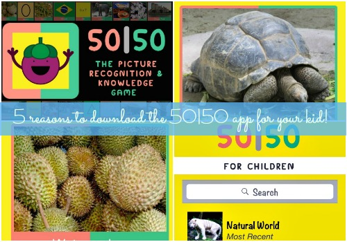 5 reasons why you should download the 50|50 app for your child