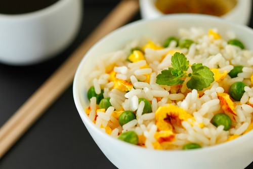 Recipe for kids: Peas and rice
