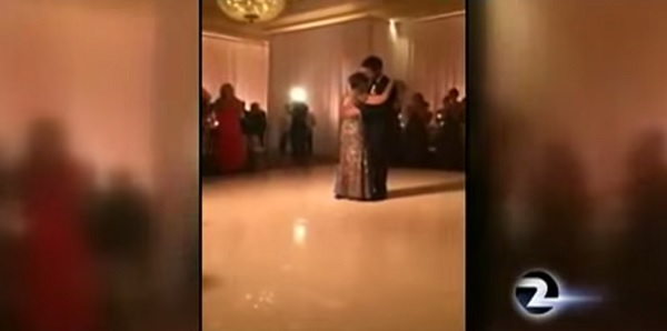 Groom and his dying mum share last dance before her death!