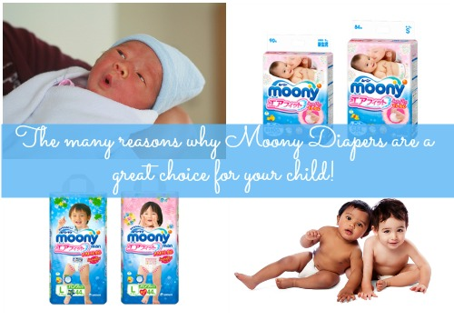 The many reasons why Moony Diapers are a great choice for your little one!