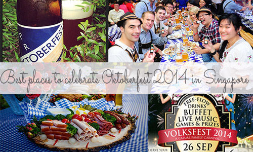 Best places to celebrate Oktoberfest 2014 in Singapore