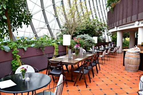 Pollen restaurant review great lunch date venue for parents for The terrace top date