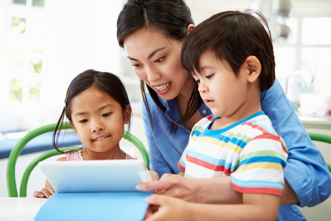 Get involved with your child's use of devices and technology