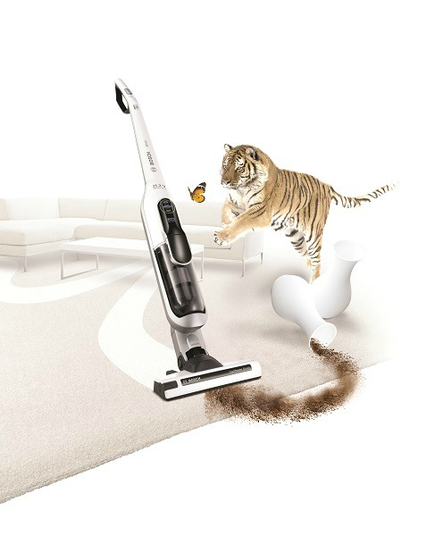 Bosch Athlet Tiger Butterfly Win the Bosch Athlet handstick vacuum cleaner (worth $649)!