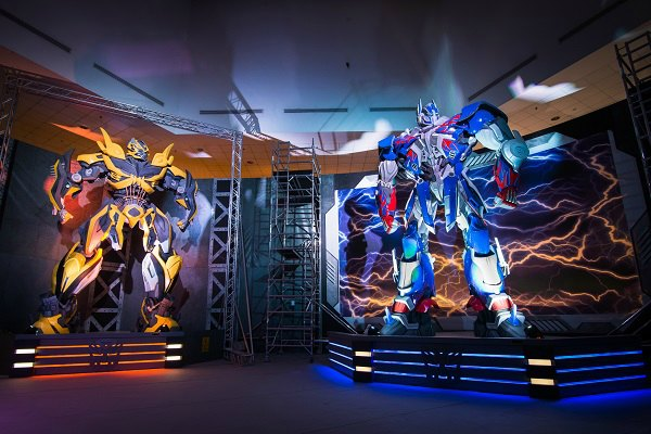 science centre, transformers exhibition
