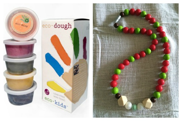 Prizes Collage Win Ana B Beads teething necklace & Eco Dough™ (worth up to $84)!