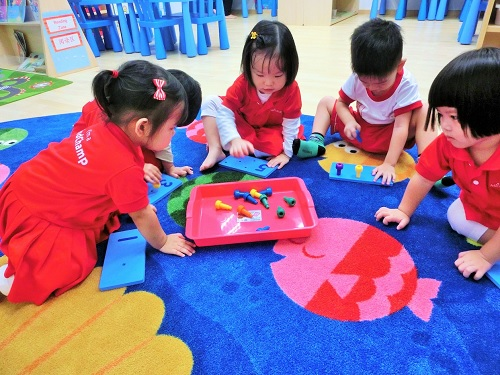 You can be sure to receive weekly updates on your child's progress at MindChamps PreSchool at Upper Thomson