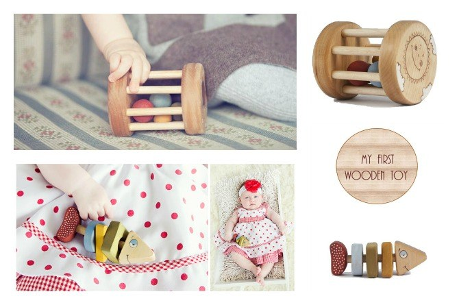 rattlecollage Win an eco friendly wooden toy for your baby's first Christmas!