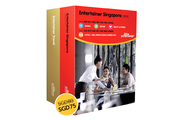 The Entertainer Singapore 2015
