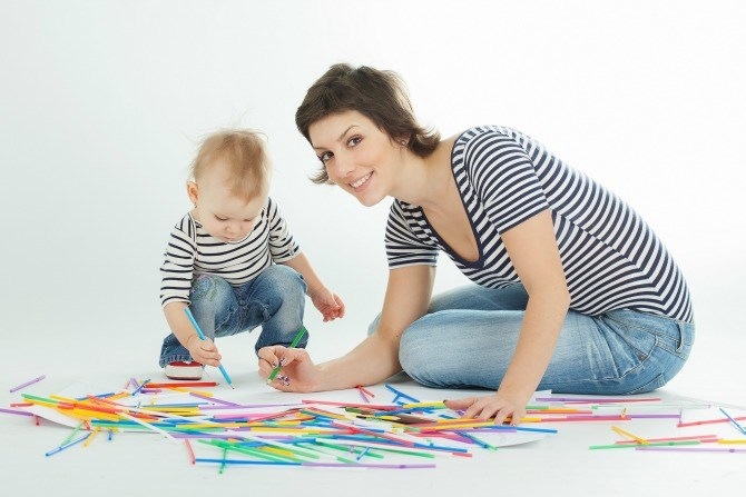 Despite their very busy schedules, these mums make sure that they spend time with their toddlers - playing, reading, exploring