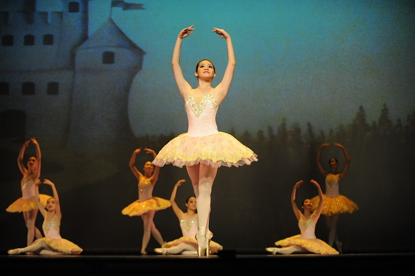 Ballerinas have amazing poise and grace - two of the first things little ones learn in ballet class