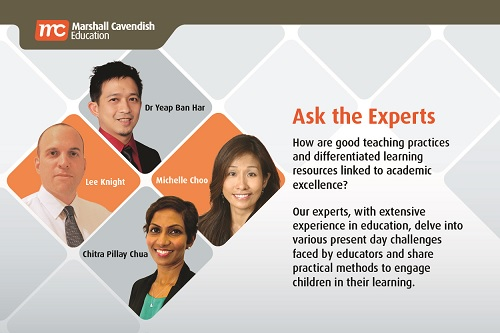 Ask the Experts 600px by 400px Ask the experts about Education and Curriculum in Singapore