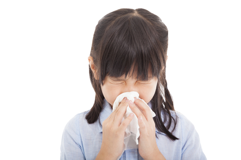 Covering noses and mouths with a tissue or handkerchief prevents the spread of this airborne virus