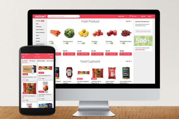 Grocery shopping is easy on RedMart.com