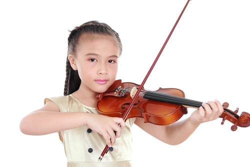 how to make a violin for kids