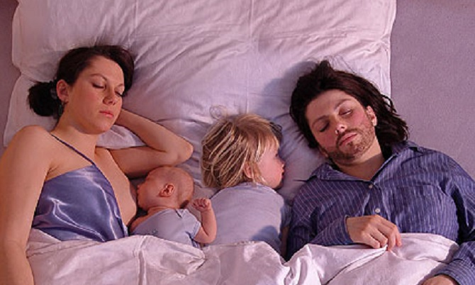 co-sleeping and sex