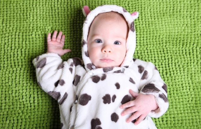 Baby in cow costume  sc 1 st  The Asian Parent & 6 Must-Knows about Cow Milk Allergy in Children